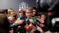 El director del Ccae, Fernando Simón, durant una atenció als mitjans aquest divendres al migdia