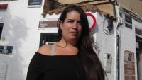 L'activista Tamara Carrasco, en una imatge d'arxiu