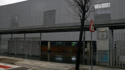 L'IES La Bisbal, un dels centres gironins afectat pel temporal 'Gloria'