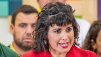 La secretària general de Podem a Andalusia i referent d'Anticapitalistes, Teresa Rodríguez, en una roda de premsa aquesta setmana