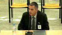 El comissari Joan Carles Molinero, aquest dimarts a l'Audiencia