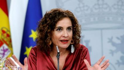 La portaveu del govern espanyol, María Jesús Montero, aquest dimarts a la roda de premsa posterior al Consell de Ministres