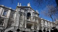 Vista de la façana del Tribunal Suprem, en una imatge d'arxiu