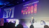 Imatge d'una conferència de Kaspersky a Barcelona, al MWC 2017