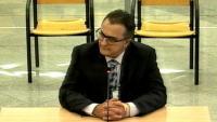 El comissari Manel Castellví, aquest dimecres a l'Audiencia