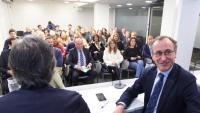 El president del PP basc, Alfonso Alonso, a la junta directiva del partit