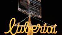 Protesta a Barcelona demanant la llibertat d'Assange