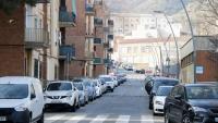 Vista del carrer on va passar el crim, a Nou Barris