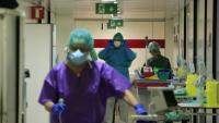 Personal sanitari a l'hospital de Bellvitge, a l'Hospitalet de Llobregat