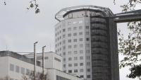 Vista de l'hospital Vall d'Hebron, a Barcelona