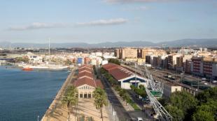 Vista del port de Tarragona, en una imatge recent