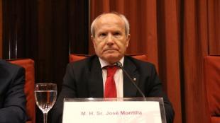 L'expresident de la Generalitat, José Montilla, en una imatge del gener