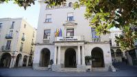 Vista de l'Ajuntament de Figueres, en una imatge d'arxiu