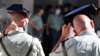Dos guàrdies civils, en una imatge recent