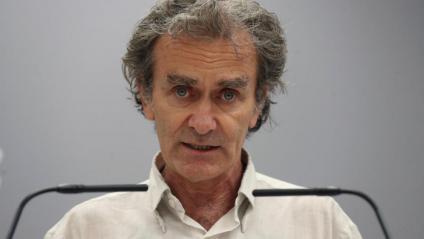 El director del CCAES, Fernando Simón, durant la roda de premsa d'aquest dijous