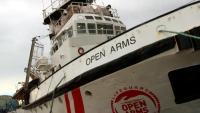 Imatge d'arxiu del vaixell 'Open Arms'