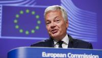 El comissari europeu de Justícia, Didier Reynders, en una imatge recent