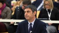El major Josep Lluís Trapero, durant una vista a l'Audiencia Nacional el passat 20 de gener