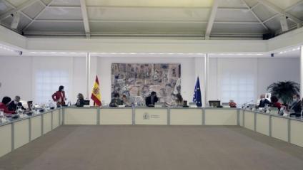 El Consell de Ministres del govern espanyol, reunit el passat dimarts