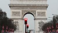 L'Arc de Triomf, en una imatge d'arxiu