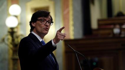 Salvador Illa, al Congrés aquest dijous