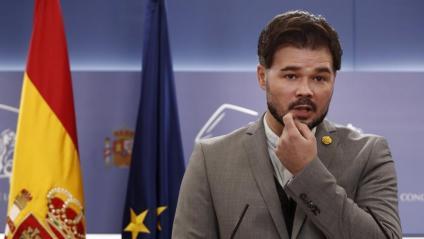 Gabriel Rufián, portaveu d'ERC al Congrés