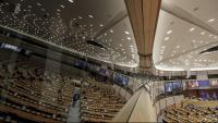 Vista de l'hemicicle del Parlament Europeu, durant el plenari d'aquesta setmana