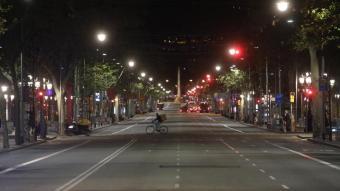 El Passeig de Gràcia, en una imatge recent