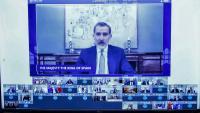 El rei Felip VI, intervé de manera telemàtica al Fòrum Regional de la Unió per la Mediterrània, que se celebra a Barcelona