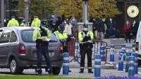 Un control policial, a Madrid