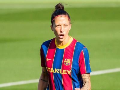 Jennifer Hermoso celebra un gol.