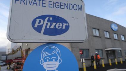 Imatge de la planta de producció de Pfizer a Puurs, a Flandes