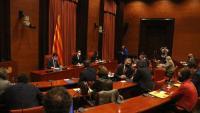 La reunió de la taula de partits de divendres passat sobre l'ajornament de les eleccions del 14-F