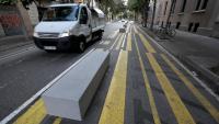 L'Ajuntament substituirà els blocs de formigó per altres elements