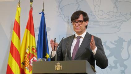 El ministre espanyol de Sanitat, Salvador Illa