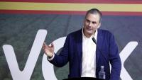El secretari general de Vox, Javier Ortega Smith, en un acte a Barcelona el passat febrer