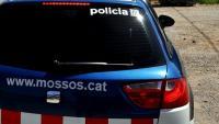 Detall d'un cotxe policial