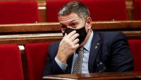 El conseller d'Interior, Miquel Sàmper, aquest dimecres al Parlament