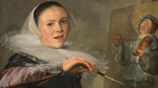 """Autoretrat"" de Judith Leyster. National Gallery of Art, Washington"