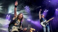 Actuació d'Iron Maiden al Rock Fest 2016