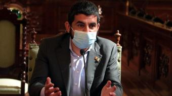 Chackir El Homrani,  conseller de Treball, Afers Socials i Famílies