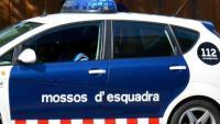 Imatge d'arxiu d'un cotxe patrulla de la policia catalana