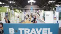 Panoràmica del saló B-Travel, al pavelló 8 de Fira de Barcelona