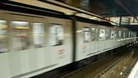 L'estació de metro Bogatell, en una imatge d'arxiu