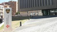 Imatge de la caserna de la Guàrdia Urbana, a Lleida