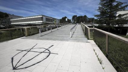 El campus de la UAB  a Bellaterra, en una imatge d'arxiu