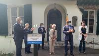 El president Puigdemont rep la medalla Carrasco i Formiguera, aquest dissabte a Prats de Molló