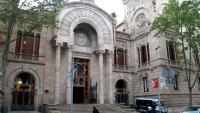 Imatge d'arxiu del Palau de Justícia, seu de l'Audiència de Barcelona