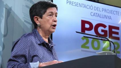 La delegada del govern espanyol a Catalunya, Teresa Cunillera, en una imatge recent