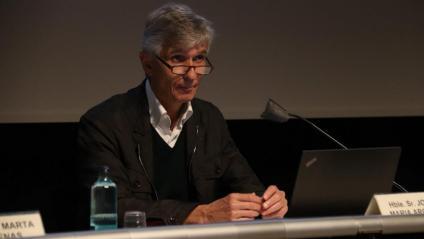 El conseller de Salut, Josep Maria Argimon,  aquest dissabte a Girona